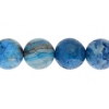 Blue Crazy Lace Agate 10mm Round 17pcs Approx